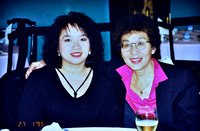 Ann Seraphim and Bea Wong